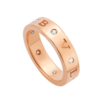 Bvlgari Bvlgari Roman Sorbets 18ct Pink Gold Diamond Ring