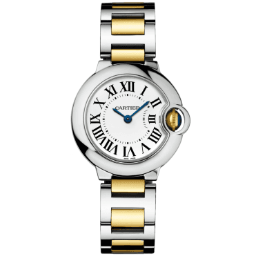 Ballon Bleu 28mm Steel & Gold Ladies Bracelet Watch