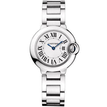 Ballon Bleu 28mm Steel Ladies Bracelet Watch