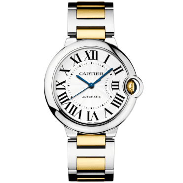 Ballon Bleu 36mm Steel & 18ct Yellow Gold Automatic Watch