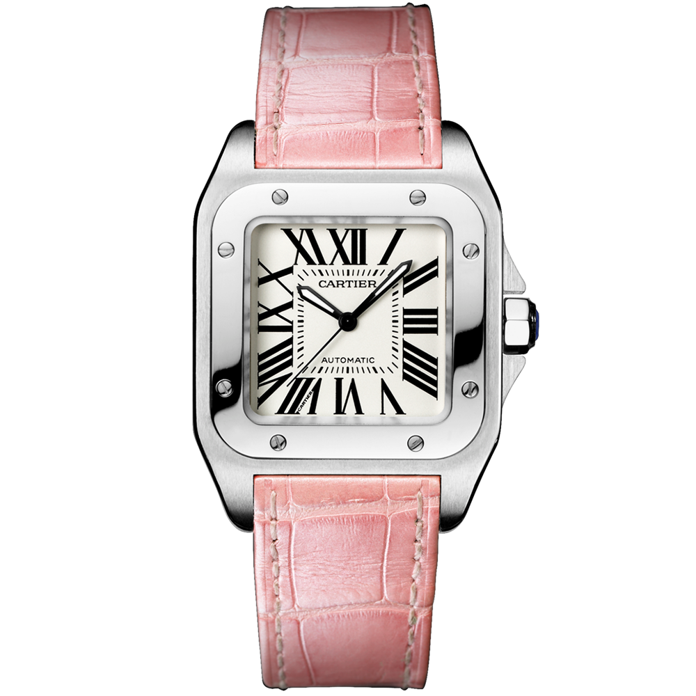 watches mens skeleton sale diamond watch for cartier product santos