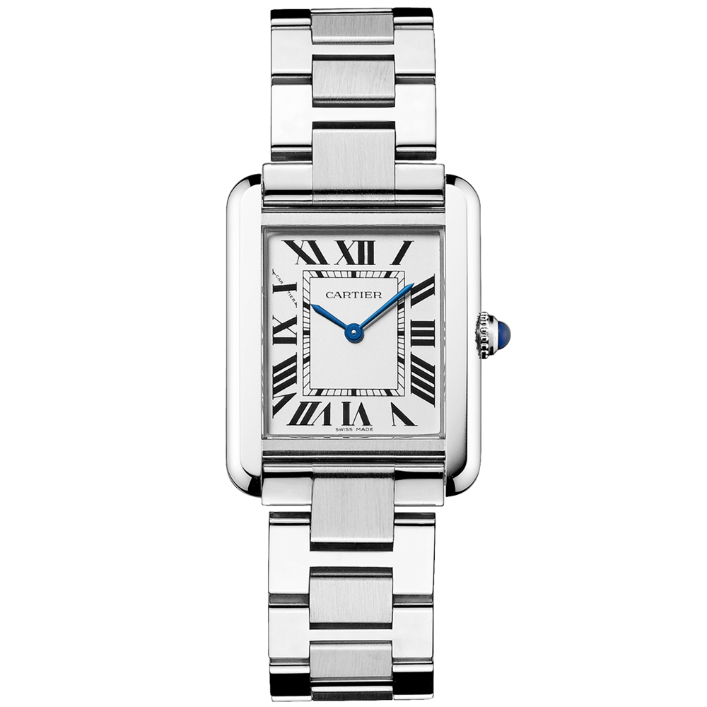 eec165552997 Cartier Tank Solo Small Steel Quartz Bracelet Watch W5200013