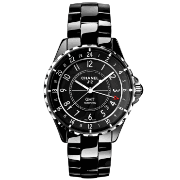 J12 GMT 41mm Black Ceramic Dial & Bracelet Automatic Watch