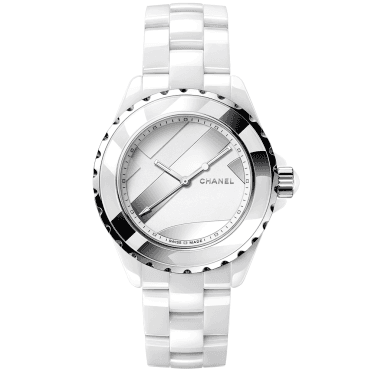 13b1d61ac0bb1 J12 UNTITLED 38mm White Ceramic   Steel Bracelet Watch