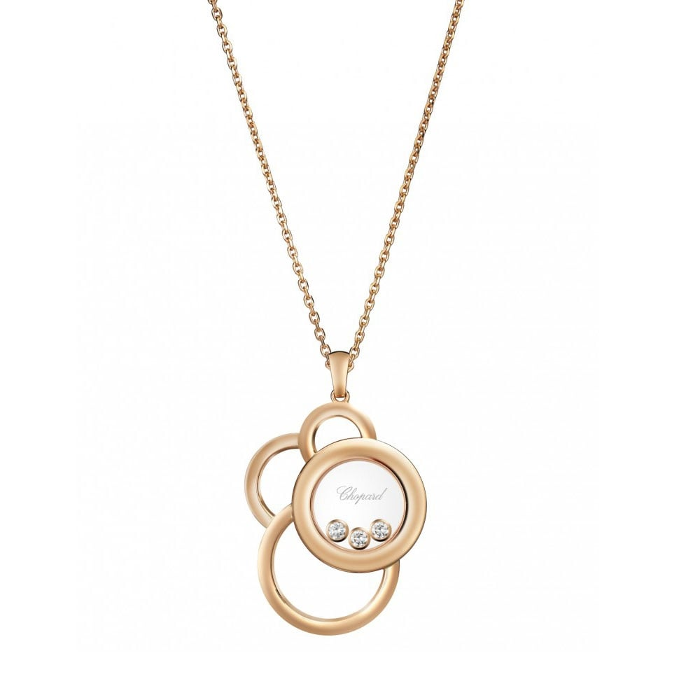Chopard Happy Dream Necklace with Diamonds tlyibF9