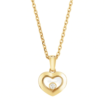 Chopard Happy Diamonds New Icons 18ct Yellow Gold Heart Pendant