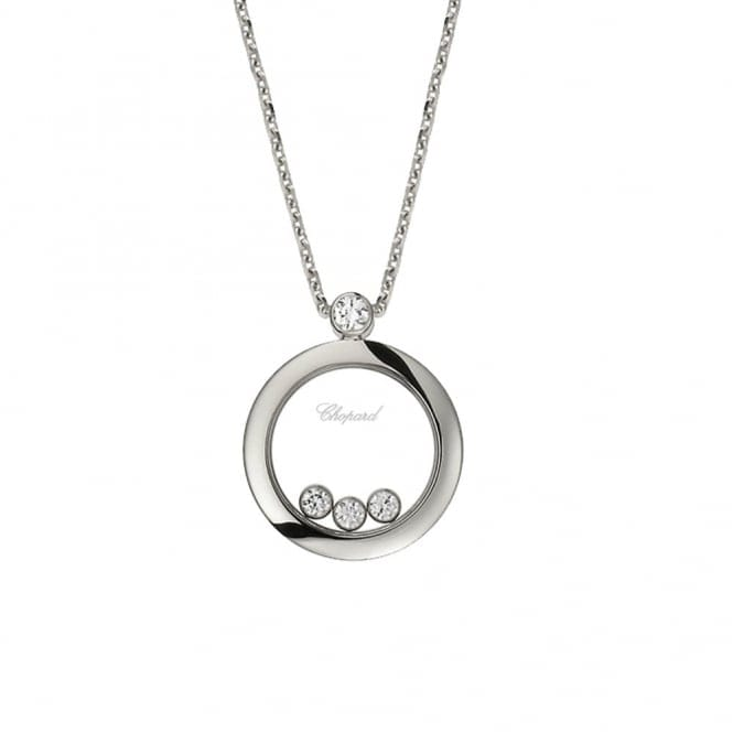 Chopard Happy Diamonds white gold necklace from ... - more.com