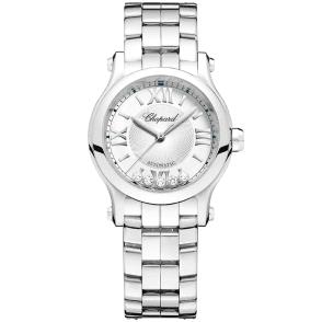 da8ed6d319b06 Happy Sport 30mm Steel Automatic Ladies Bracelet Watch. Chopard ...