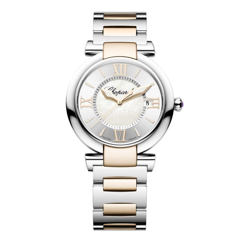 chopard imperiale 36mm steel gold bracelet