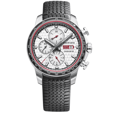 Mille Miglia 2017 Race Edition 44mm Silver/Red Dial Men's Watch
