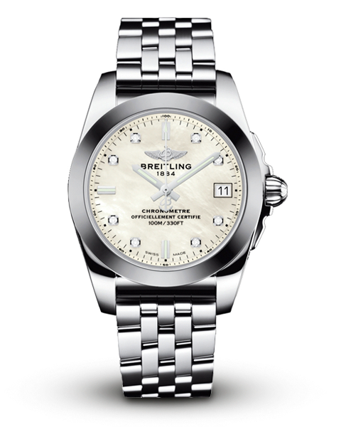 Breitling Galactic Ladies Bracelet Watch