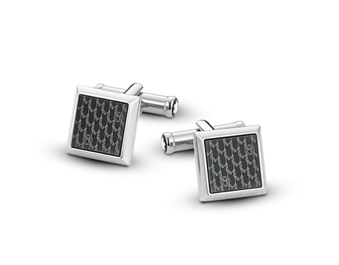 Montblanc Stainless Steel Cufflinks