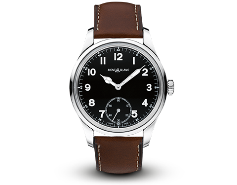 Montblanc 1858 Leather Strap Watch