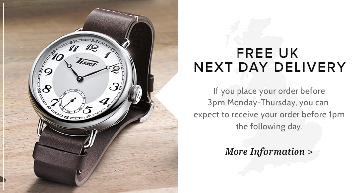 Tissot Watches Free Delivery