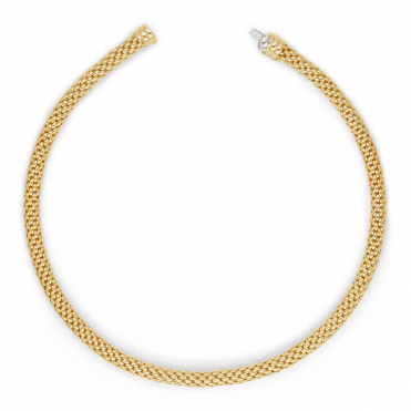 Kaleida 18ct Yellow Gold Necklace