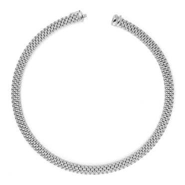 Profili 18ct White Gold Necklace