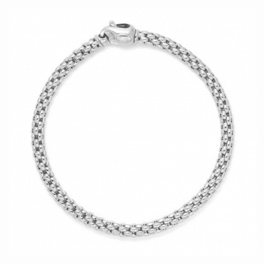 Unica 18ct White Gold Bracelet