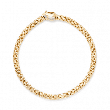 Unica 18ct Yellow Gold Bracelet