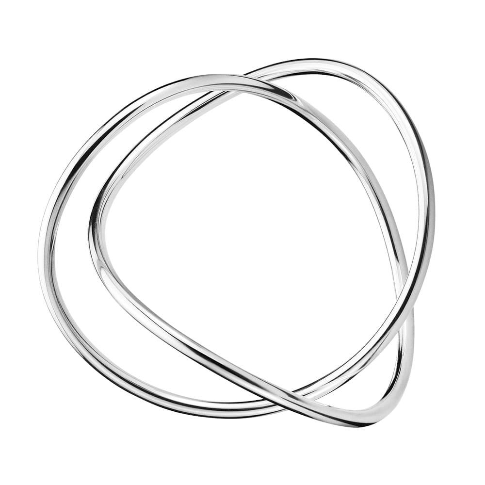 deedcd773 Georg Jensen Alliance Silver Single Strand Bangle at Berry's Jewellers