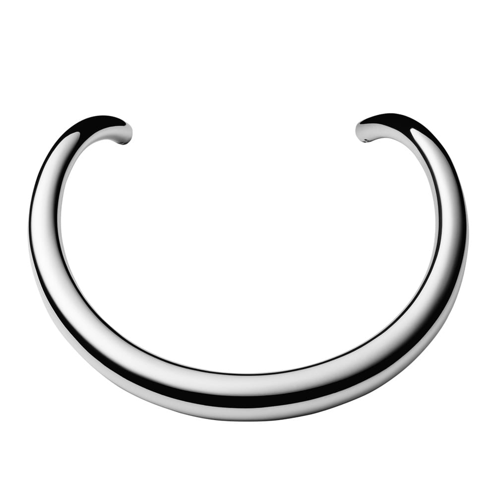 georg jensen archive polished sterling silver neckring from berry 39 s jewellers. Black Bedroom Furniture Sets. Home Design Ideas