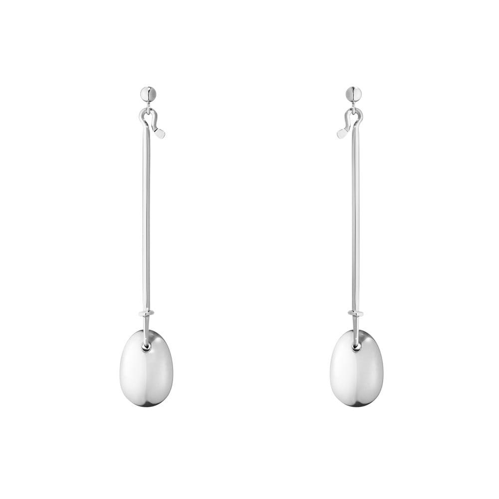 ede7dc3e3 Georg Jensen Georg Jensen Dew Drop Sterling Silver Long Drop Earrings