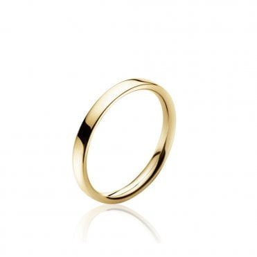 Magic Yellow Gold Centre Ring