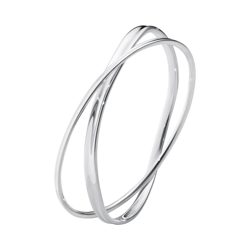 bangles personalised bracelets sterling ladies silver flat be russian can heart with slave triple