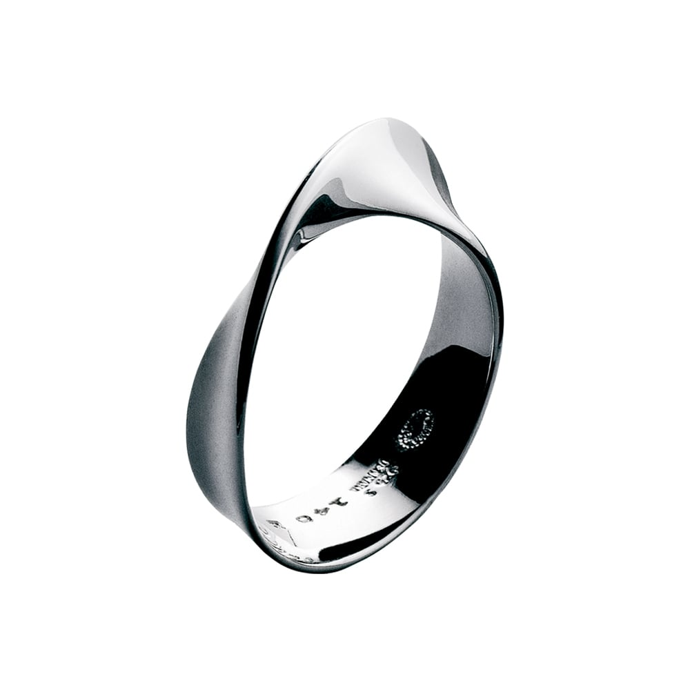 Georg Jensen Mobius Sterling Silver Dress Ring 3551340