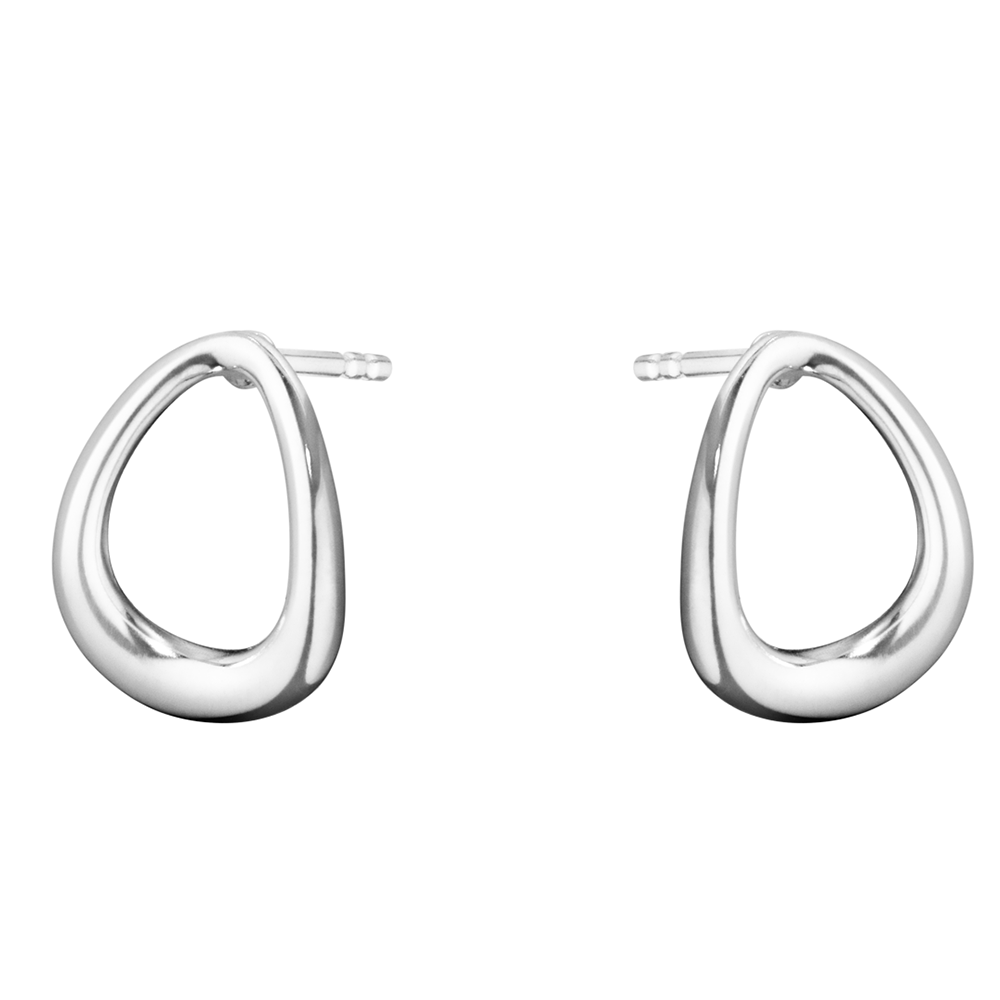 clear ss heart itm baby earrings silver girls cz charm hoop toddlers jewellery sterling