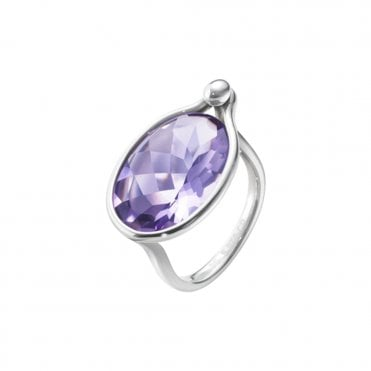 Savannah Sterling Silver & Amethyst Ring