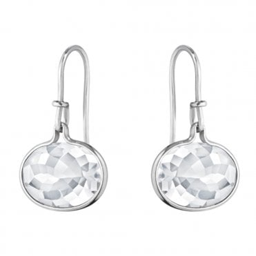 Savannah Sterling Silver & Rock Crystal Earrings
