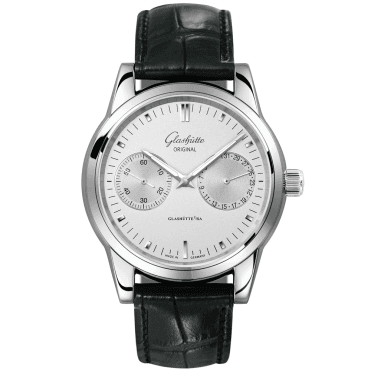 Senator Hand Date 40mm Silver Index Dial Men's Automatic Watch