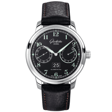 Senator Observer 40mm Black Arabic Dial Men's Automatic Watch
