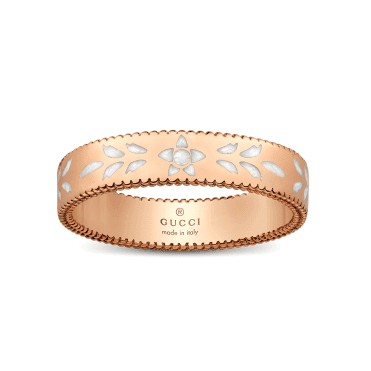 18ct Rose Gold Icon Blossom Ring