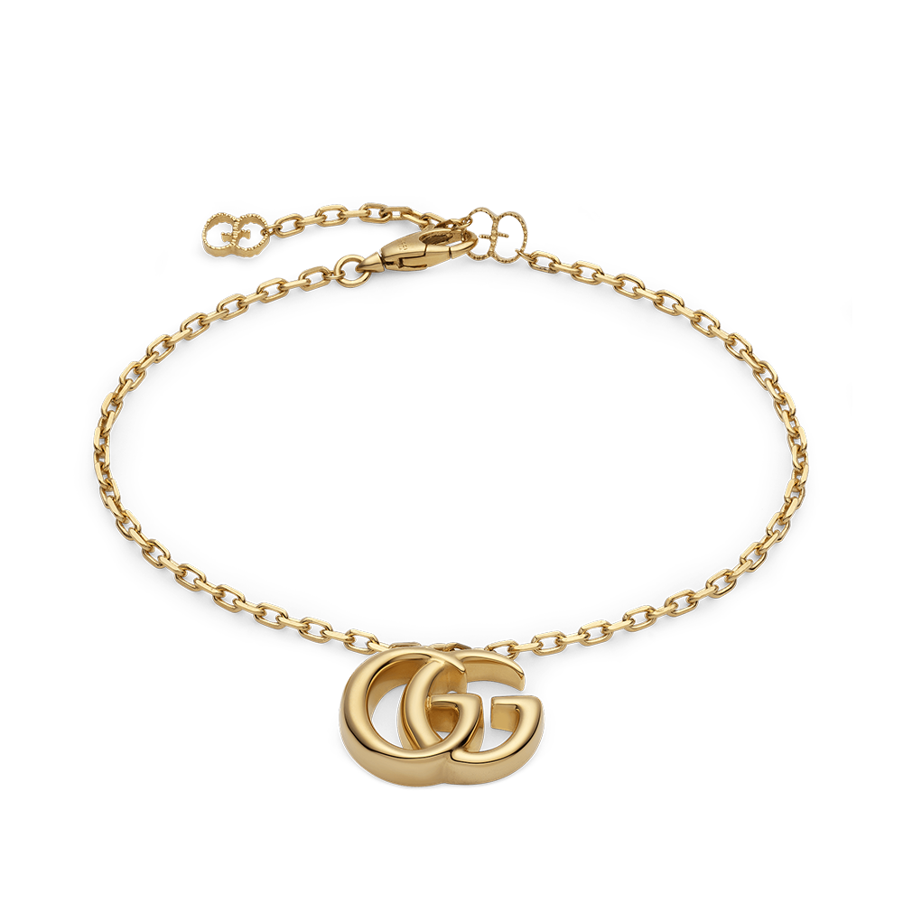 443404ff828d9 18ct Yellow Gold GG Marmont Bracelet