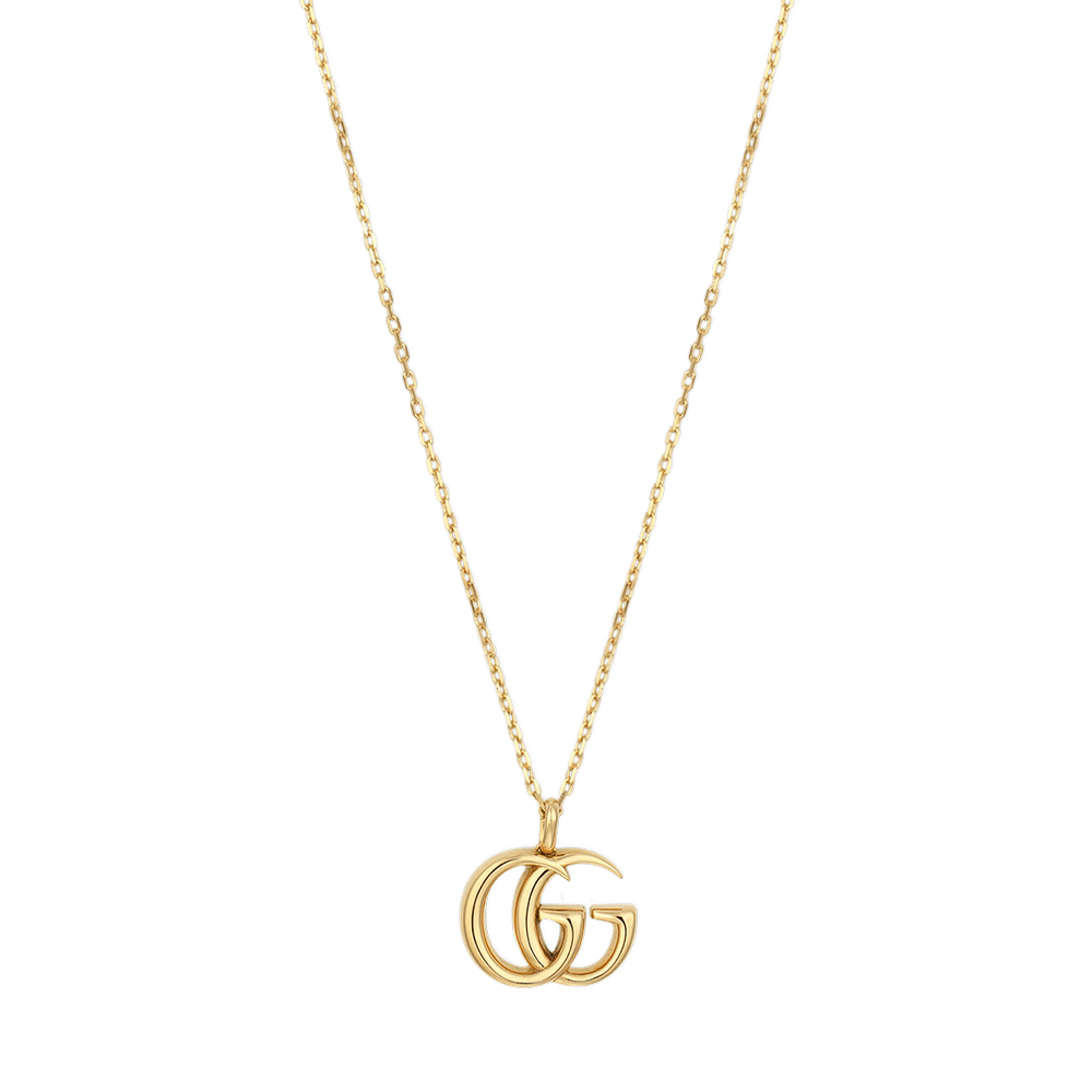 c37f9693c7e Gucci 18ct Yellow Gold GG Marmont Necklace from Berry s Jewellers