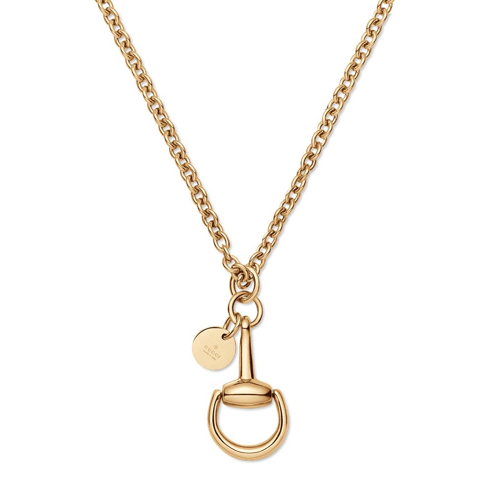 10859eb57 Gucci Gucci 18ct Yellow Gold Horsebit Necklace