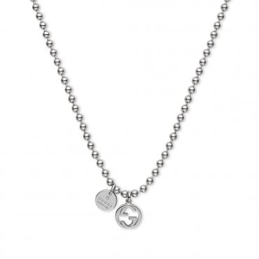 Boule Sterling Silver Charm Necklace