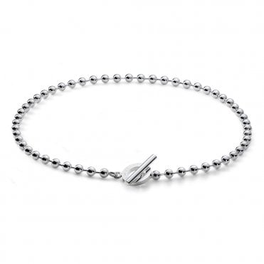 Boule Sterling Silver Necklace