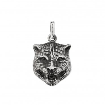 Cat Blind for Love Aureco Silver Charm