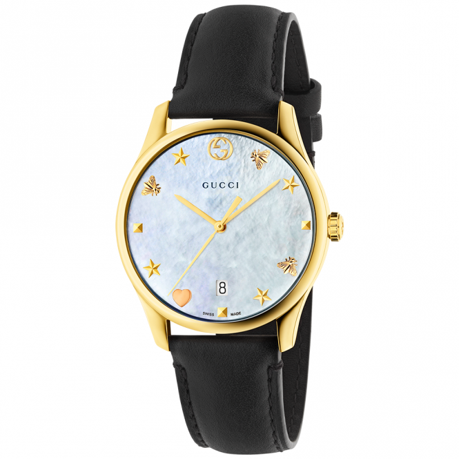 b77686a1f88 gucci gents white dial g timeless watch available via PricePi.com ...