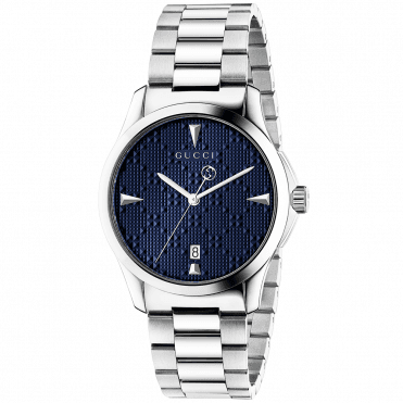 G-Timeless 38mm Blue Diamante Dial Bracelet Watch