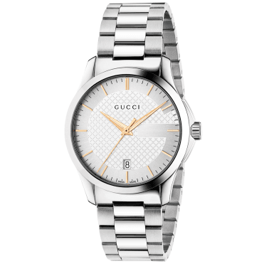 G-Timeless 38mm Silver/Gold Dial Unisex Bracelet Watch