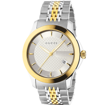 G-Timeless Stainless Steel & Yellow Gold PVD Men's Bracelet Watch