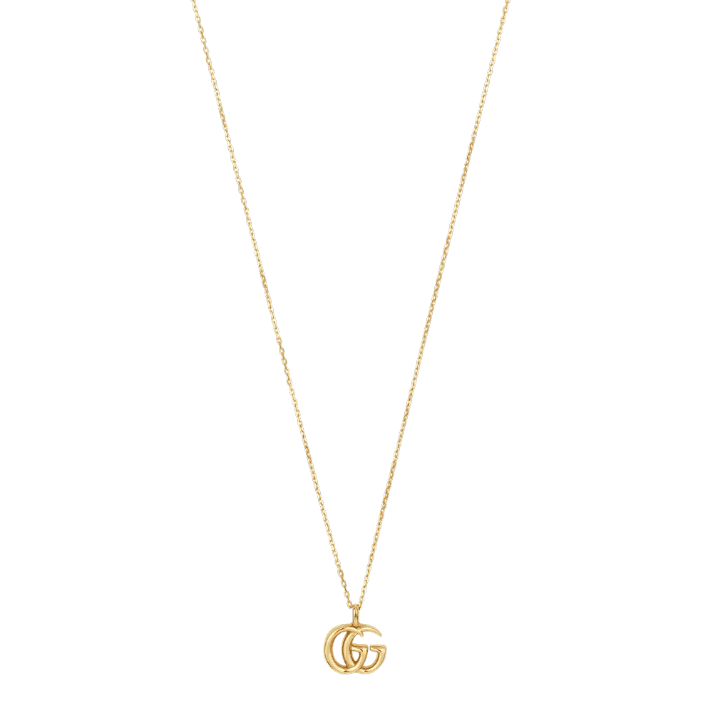 5c2fa3451 GG Marmont 18ct Yellow Gold Necklace