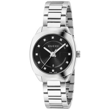 GG2570 29mm Black Diamond Dot Dial Ladies Bracelet Watch