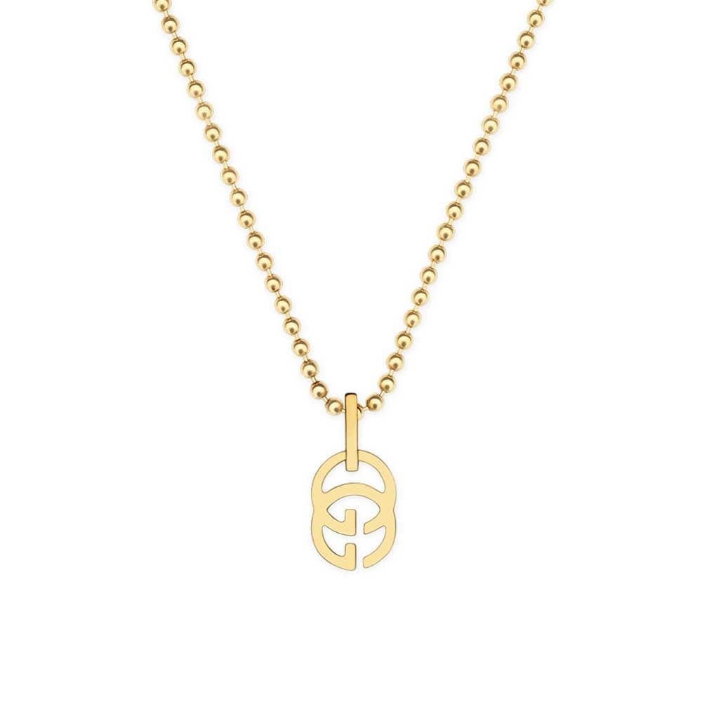 5e19f7faa Gucci Running G 18ct Yellow Gold Necklace from Berry's Jewellers