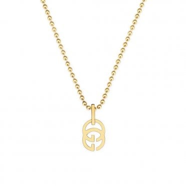Running G 18ct Yellow Gold Necklace