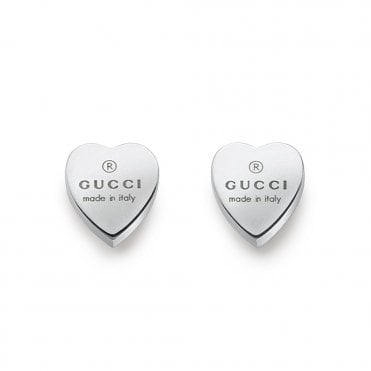 000bf0bfb9c Trademark Sterling Silver Heart Stud Earrings Best Seller. Gucci ...