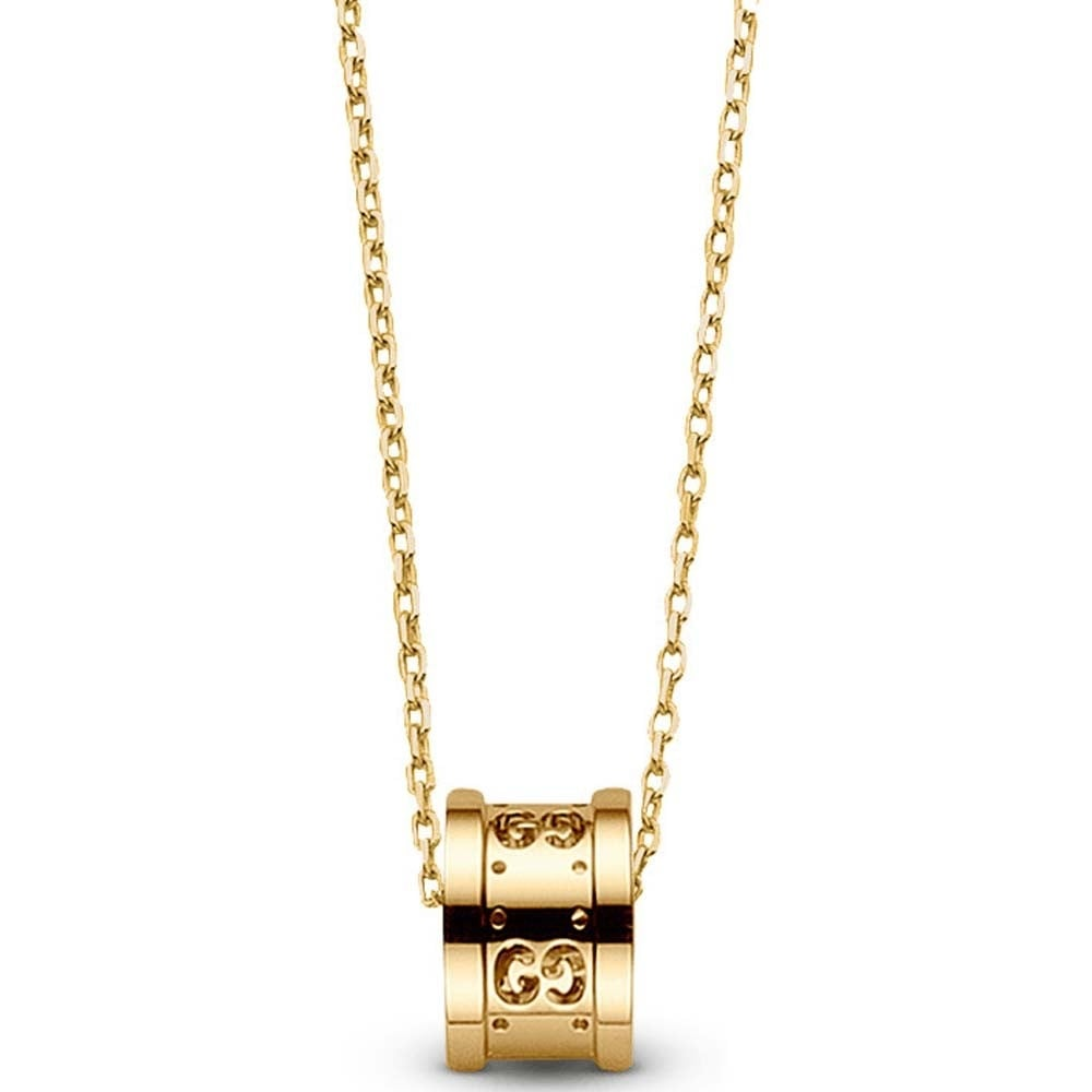 79665b052 Gucci 18ct Yellow Gold Icon Twirl Necklace From Berry's Jewellers